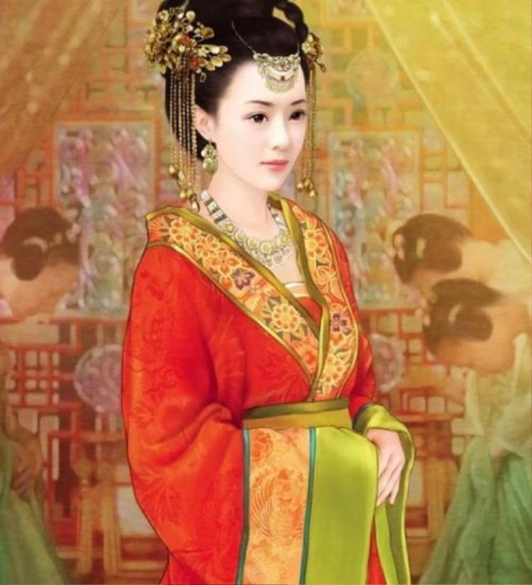 Chân dung vị hoàng hậu hiếm có trong lịch sử Trung Hoa, đến cuối đời vẫn là trinh nữ. Ảnh: Baidu