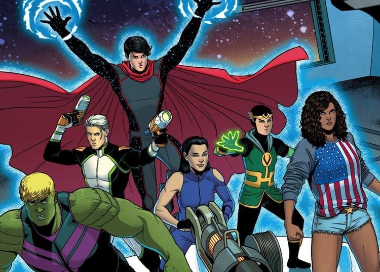 Hãy ủng hộ cho thế hệ trẻ đầy tiềm năng của vũ trụ Marvel!