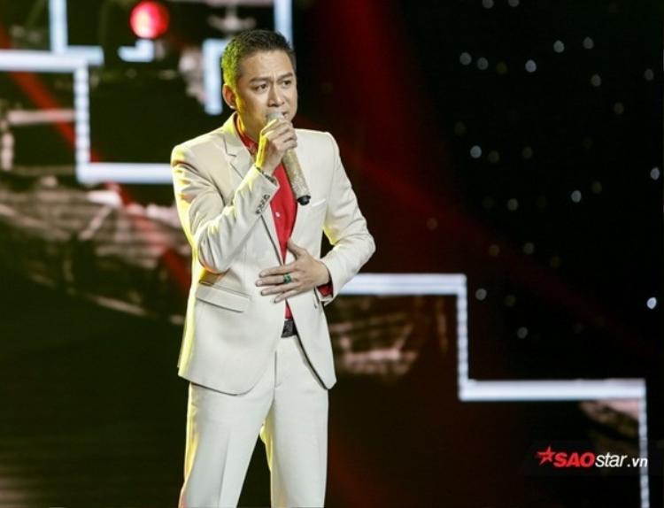 Thí sinh Quang Long.