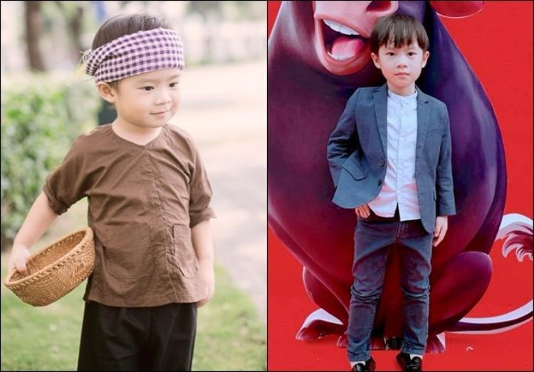 """Bé Rio, con trai đầu lòng của vợ chồng Lý Hải - Minh Hà được mọi người yêu mến với vẻ ngoài đáng yêu cùng gout thời trang sành điệu. Ở tuổi lên 7, cậu bé đã ra dáng một """"soái ca"""" lịch lãm, hứa hẹn """"ăn đứt"""" cả ông bố nổi tiếng trong tương lai."""