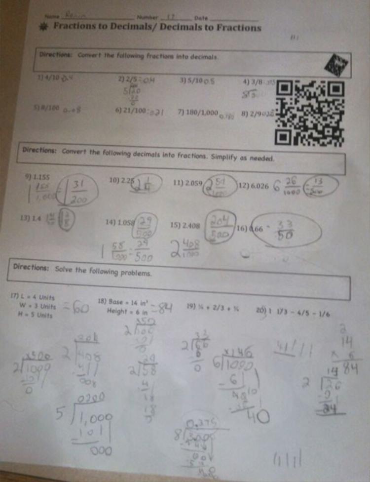 Mã QR code để học sinh xem được bài giải của giáo viên qua Youtube.