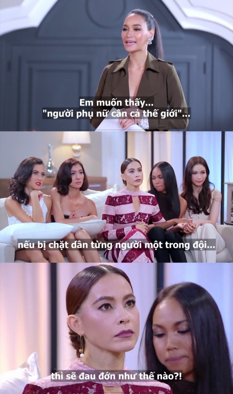 Không cần xin lỗi, HLV The Face Thái từng loại thí sinh chỉ vì muốn chọc tức đối thủ.