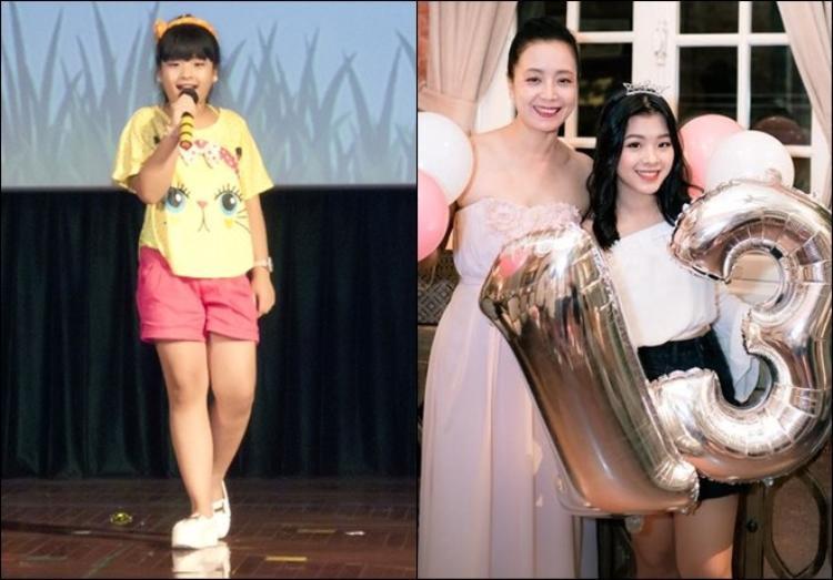 Hồng Khanh từng được khán giả yêu mến tại chương trình Giọng hát Việt 2013 với tài năng và vẻ ngoài xinh xắn vừa bước sang tuổi 13. Ái nữ của Chiều Xuân thừa hưởng trọn vẹn nét đẹp từ mẹ nên gần như sở hữu đầy đủ tố chất để trở thành một ngôi sao trong tương lai.