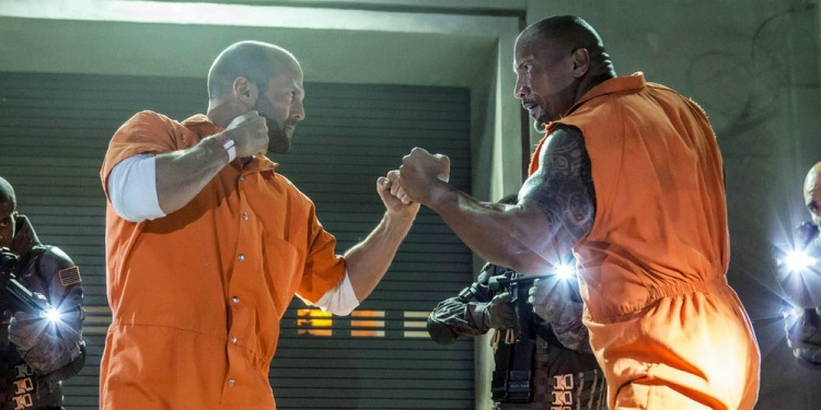 Dwayne Johnson và Jason Statham.