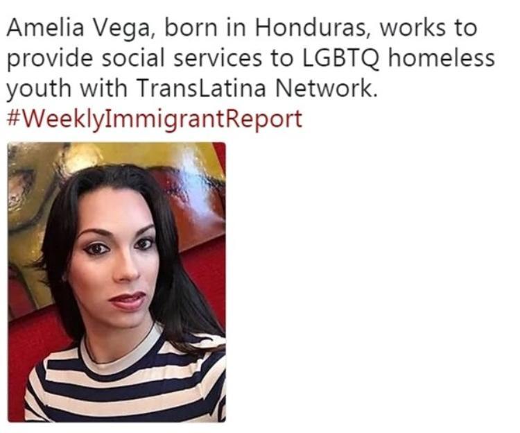 Cô nàng được biết đến như một nhà hoạt động xã hội vì lợi ích của những người vô gia cư thuộc cộng đồng LGBTQ.
