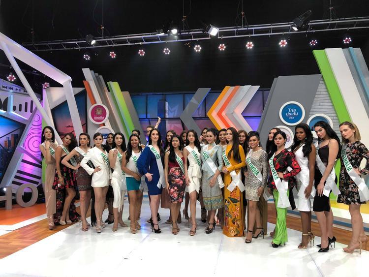 Sau chiến thắng đầu tiên với giải thưởng Tài năng, Hương Giang Idoltiếp tục tham gia các hoạt động của Hoa hậu Chuyển giới Quốc tế 2018 tại thủ đô Bangkok, Thái Lan.