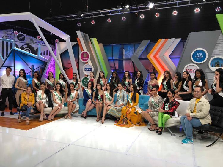 Buổi ghi hình của Hương Giang Idol và 27 thí sinh của Miss International Queen Pageant 2018 được phát sóng trong thời gian tới.