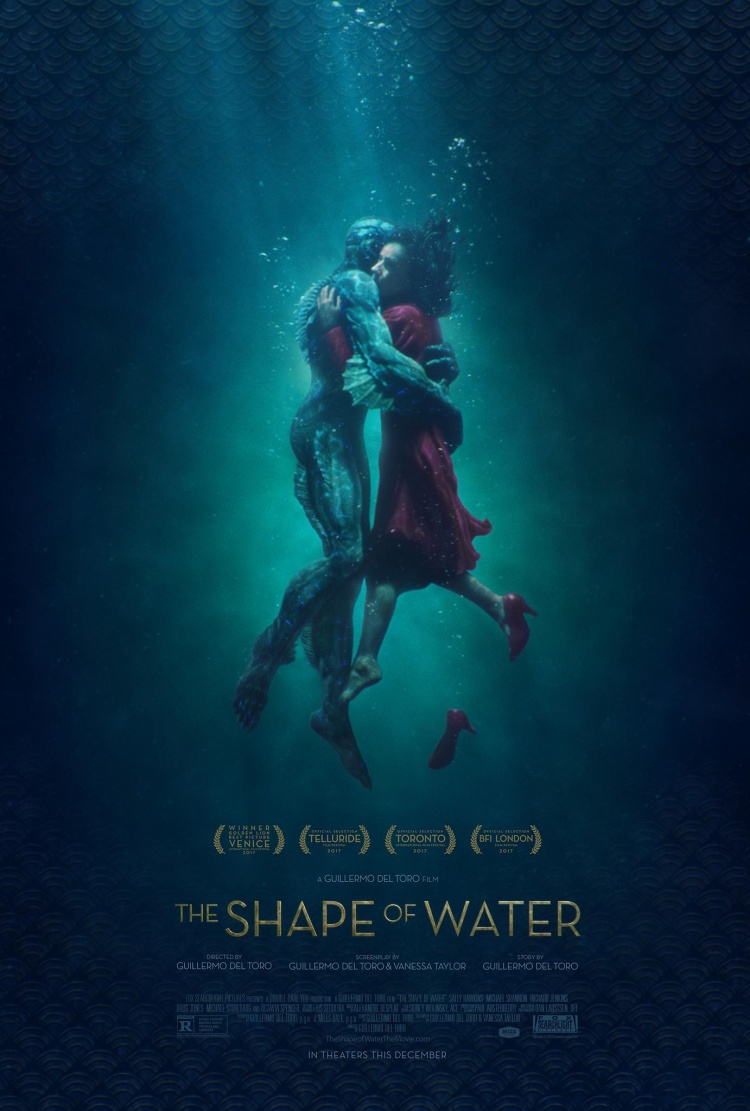 Câu chuyện tình yêu giữa cô lao công câm và thuỷ quái nhận được 13 đề cử Oscar.
