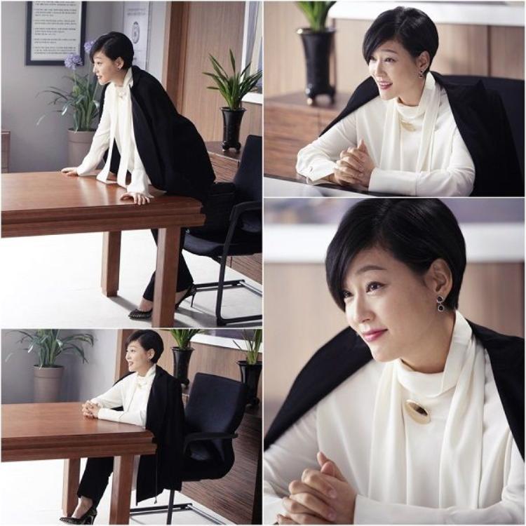 """Hình ảnh sắc bén, dữ dằn và cũng hợp thời trang hơn khi Park Jin Hee thủ vai Choi Ja Hye. Diễn xuất của cô cũng không bị """"ném đá"""" khi phải thay thế cho đàn chị Go Hyun Jung giữa chừng"""