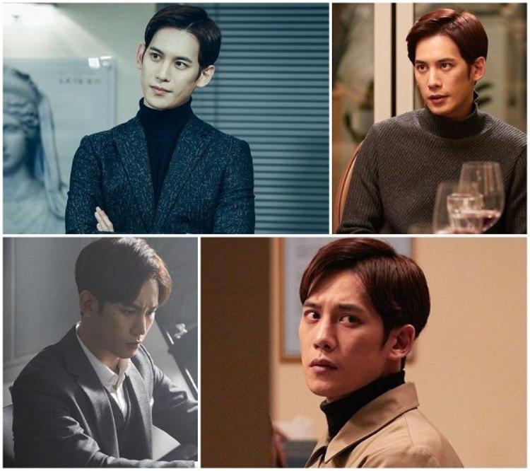 """Park Ki Woong thủ vai tài phiệt Kang In Ho, thành viên """"hoàn lương"""" sớm nhất trong bộ tứ ăn chơi"""
