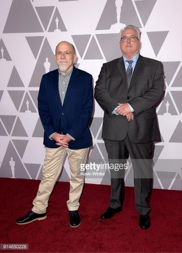 Richard King và Alex Gibson.