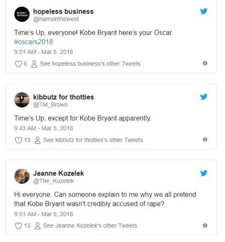 Hàng loạt chỉ trích trên Twitter.