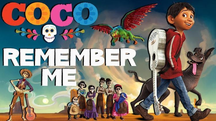Remember Me là ca khúc hiếm hoi thắng cùng lúc cả giải Oscar lẫn Quả Cầu vàng.