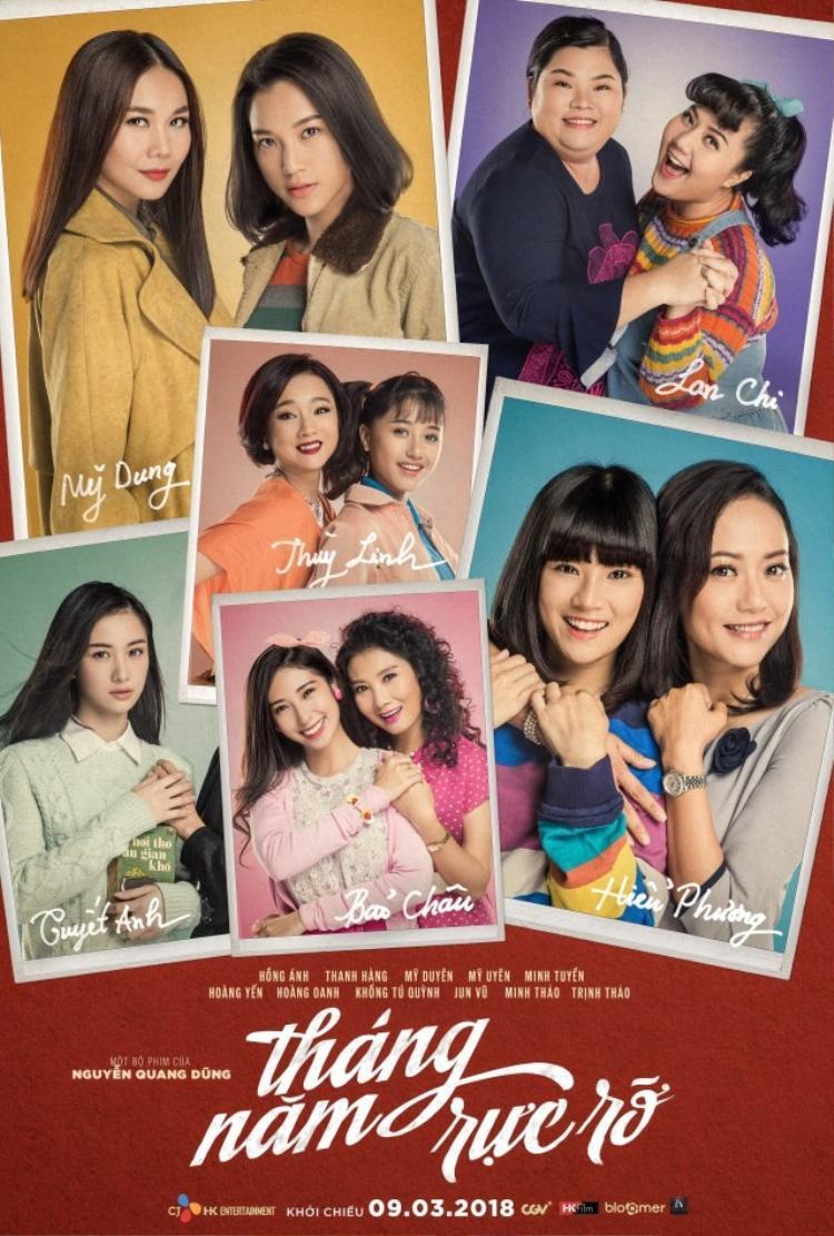 Poster bộ phim Tháng năm rực rỡ