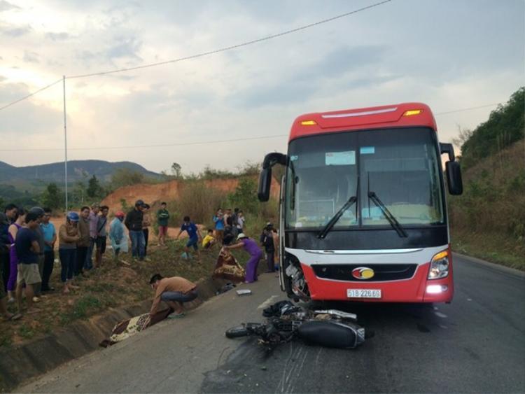 Vụ tai nạn nghiêm trọng khiến hai người tử vong.