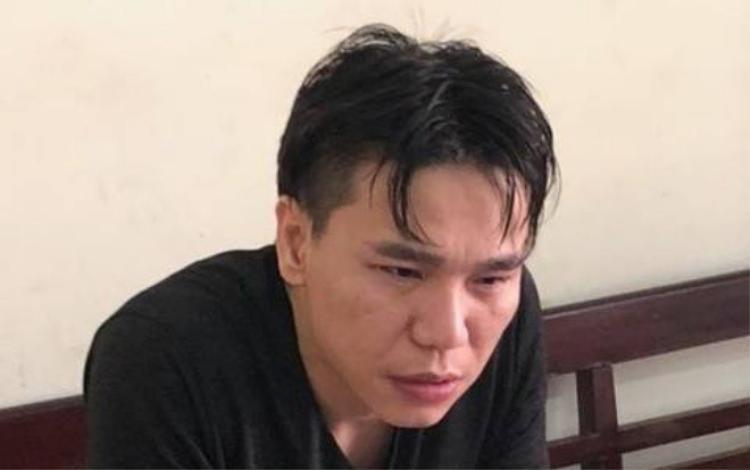 Châu Việt Cường tại cơ quan điều tra.