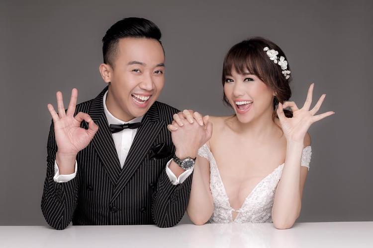 Kể từ khi yêu đến lúc kết hôn với Trấn Thành, Hari Won thay đổi khá nhiều về ngoại hình.