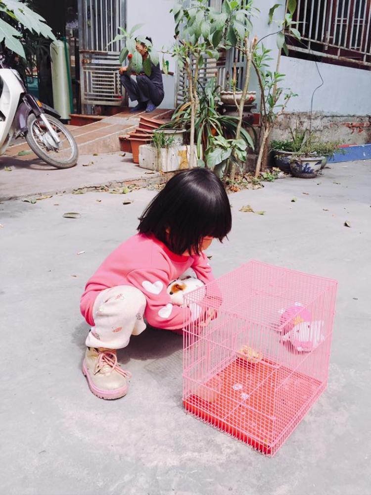 Dân mạng thích thú với cô bé nói chưa sõi nhưng nhiều lần xách vali bỏ nhà ra đi để cứu giúp bạn bè
