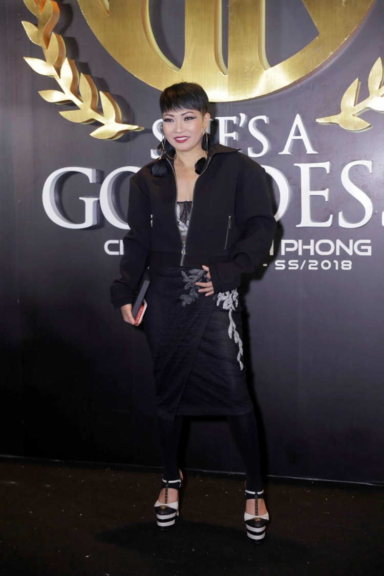 """Tham dự một sự kiện thời trang tại TP.HCM, ca sĩ Phương Thanh cũng từng mang đôi giày cao ngất ngưởng này để """"ăn gian"""" chiều cao!"""