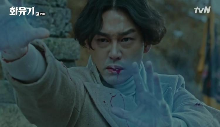 """Kĩ xảo trong tập cuối """"Hwayugi"""" hơi bị giống thời kì… """"5 anh em siêu nhân"""""""