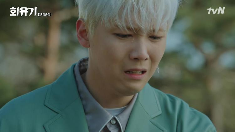 """P.K một lúc mất cả Alice (Ngọc Long nhập thể) và Jin Boo Ja (Ahsanyeo nhập thể) trong kết thúc của """"Hwayugi"""""""