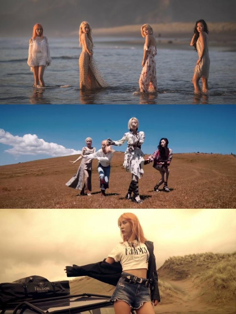 Hậu teaser nét căng chụp bằng Iphone X, Mamamoo khiến fan muốn quỳ vì MV quá đẹp