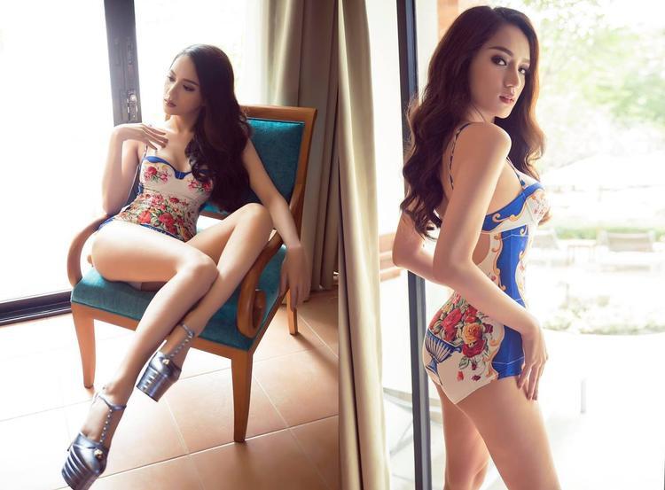 … phần thi bikini tối nay của Hương Giang sẽ được gia đình trực tiếp cổ vũ.