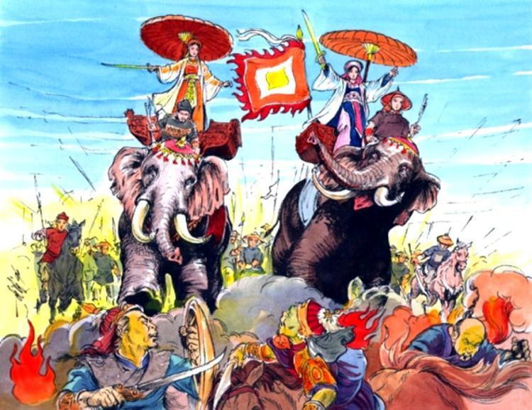 Ngày mồng 8/3 ở Việt Nam cũng là ngày kỷ niệm cuộc khởi nghĩa Hai Bà Trưng.