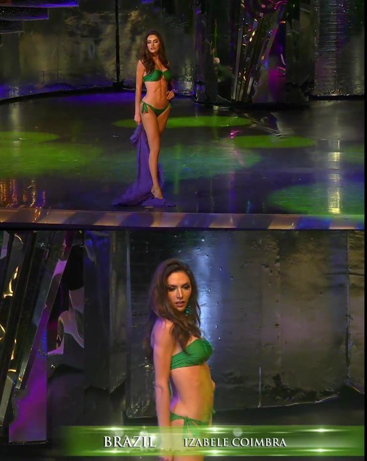"""Người đẹp Brazil được dân mạng """"định đoạt"""" lọt Top 3 chung cuộc sở hữu body """"nóng bỏng""""."""