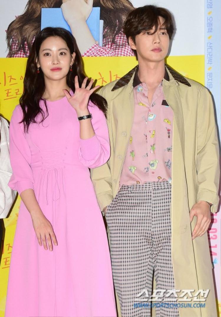Oh Yeon Seo và Park Hae Jin là cặp đôi trong phim.