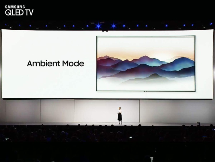 Samsung vừa chính thức ra mắt các dòng sản phẩm TV QLED 2018