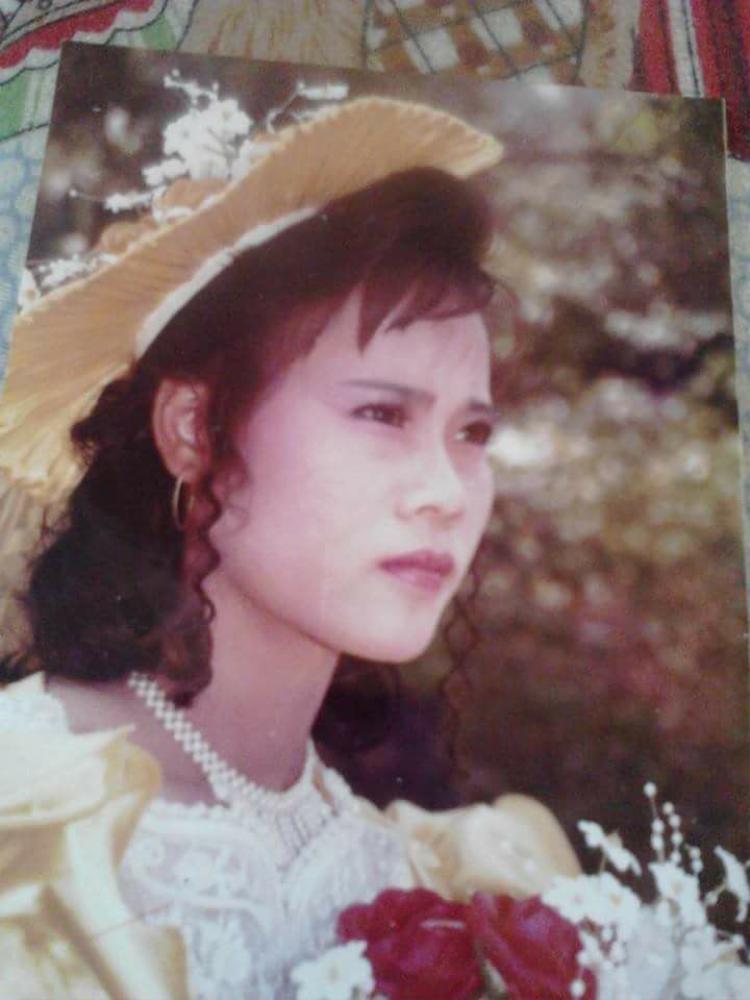 Bức ảnh chụp thời thanh xuân của mẹ.