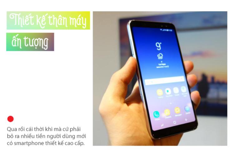 3 tính năng đỉnh trên smartphone Galaxy A8 sẽ khiến bạn mê mẫn
