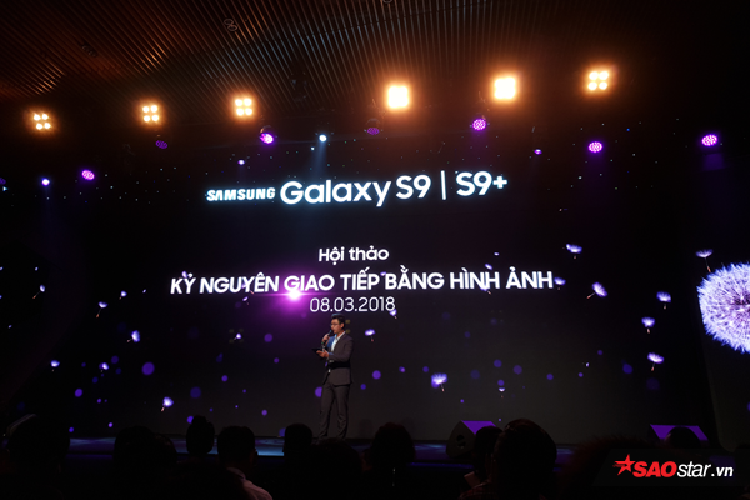Samsung Galaxy S9 và S9+ chính thức chào sân thị trường smartphone Việt Nam.