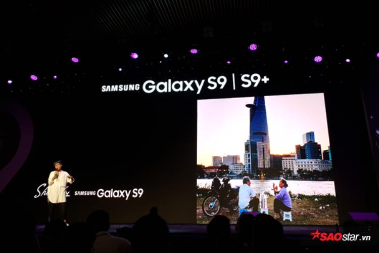 Thông qua hội thảo này, Samsung Galaxy S9 và S9+ chính thức ra mắt tại Việt Nam.