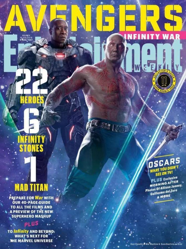 Bìa 11: War Machine và Drax