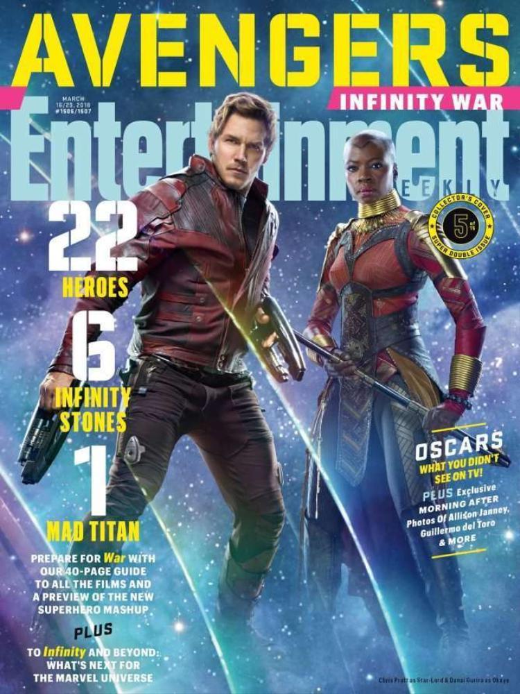 Bìa 5: Star-Lord và Okoye