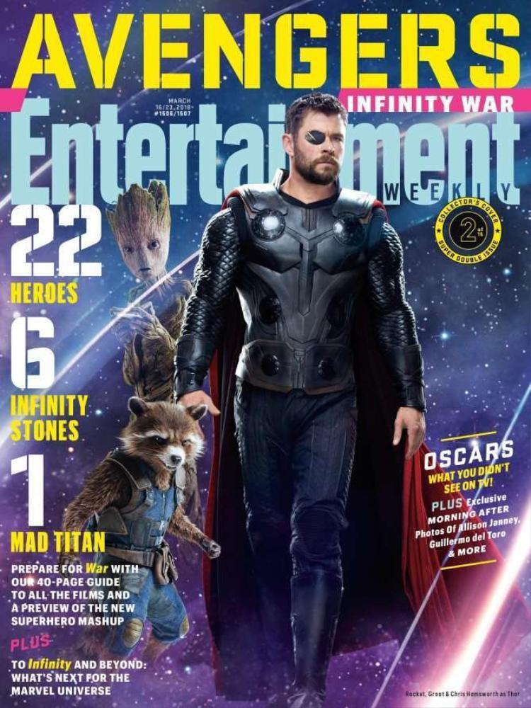 Bìa 2: Groot, Rocket Racoon và Thor