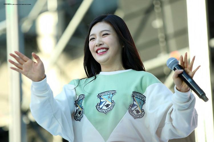 Joy khi mới debut hết sức mũm mĩm và dễ thương.