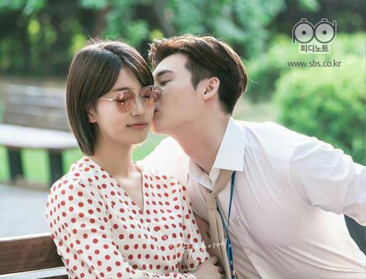 Những hình ảnh cực thân mật của Suzy và Lee Jong Suk trong phim.