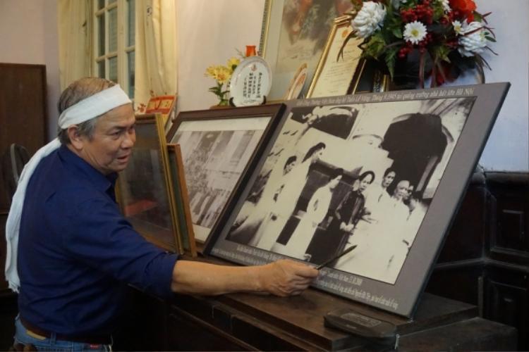 Ông Trịnh Cần Chính hiện đang ở ngôi nhà trên không đồng tình bán căn nhà.
