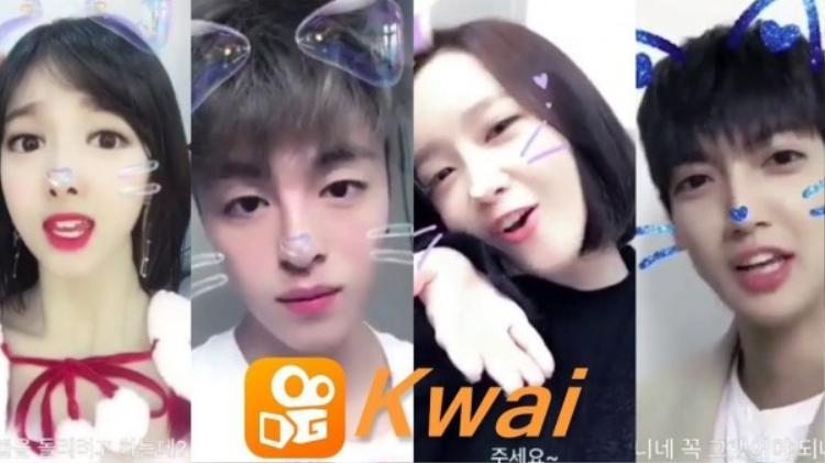 Sự xuất hiện của loạt sao Hàn là một trong những lý do đưa KWAI đến gần người dùng Việt hơn.