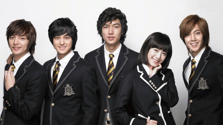 """Khi """"Vườn sao băng"""" ăn khách, tên tuổi của Kim Bum và Lee Min Ho cũng vụt sáng."""