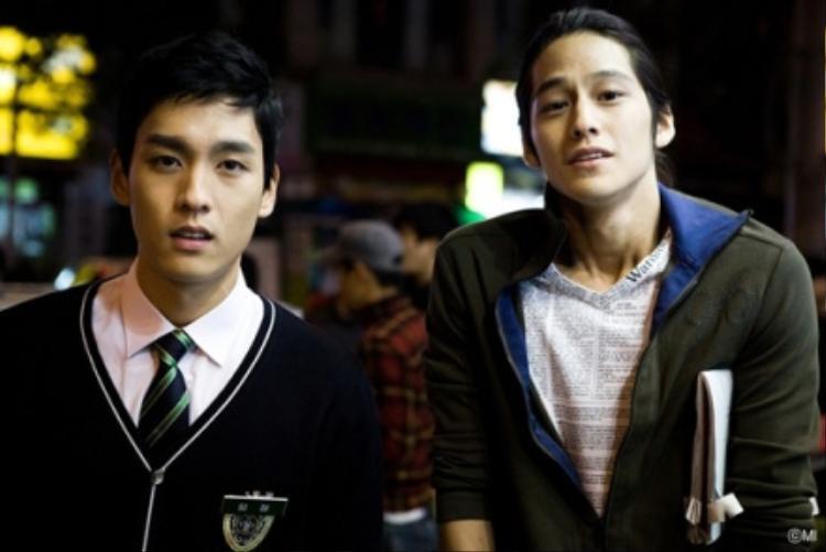 """Trong """"Padam padam"""", Choi Tae Joon có nhiều cảnh diễn chung với Kim Bum"""