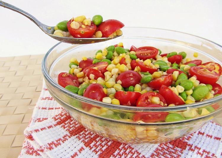 Salad ngô non là một trong những món ăn giảm cân vô cùng hiệu quả.