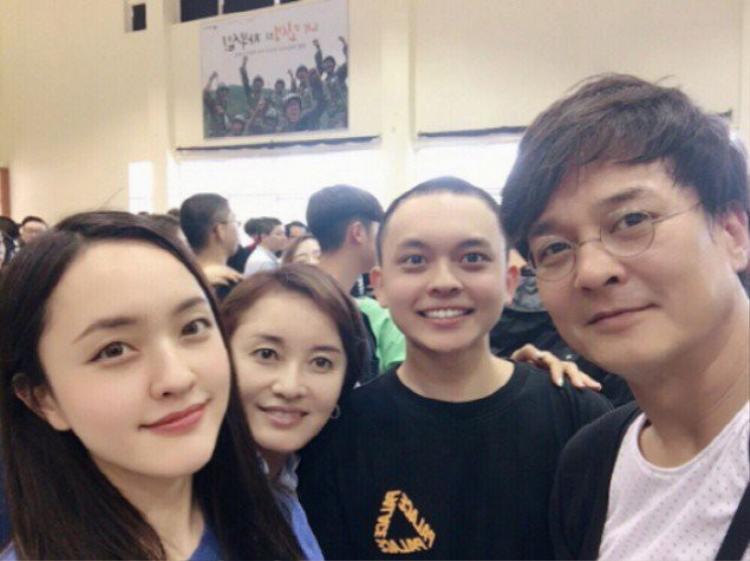 Gia đình hạnh phúc của Jo Min Ki.