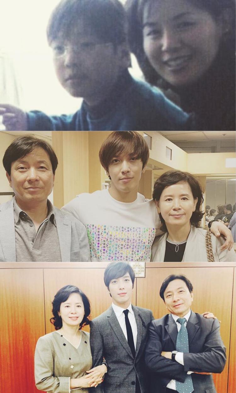 Bố mẹ của giọng ca chính CNBLUE - Jung Yonghwa. Họ luôn đến concert để cổ vũ, ủng hộ con trai mình.