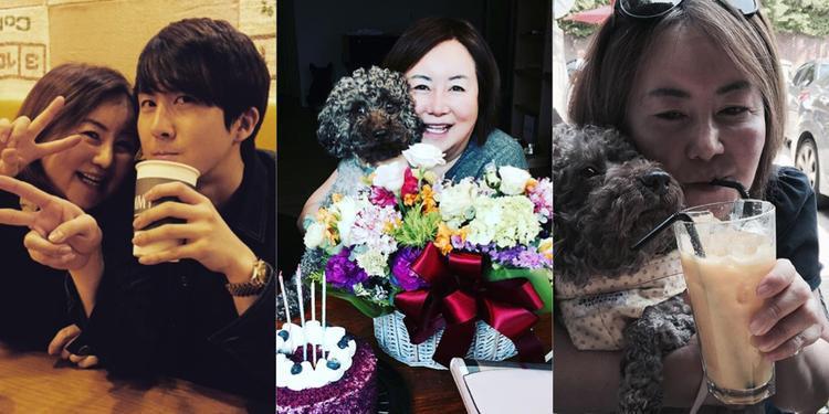 """Thành viên SS501 - Kim Hyung Jun thường xuyên """"hẹn hò"""" với người mẹ """"xì-tin""""."""
