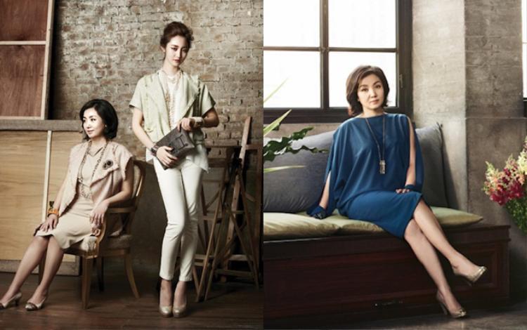 """Mẹ con Goo Jun Hee xinh đẹp hết phần người khác. Liệu có nam nhân nào muốn trở thành """"con rể""""?"""