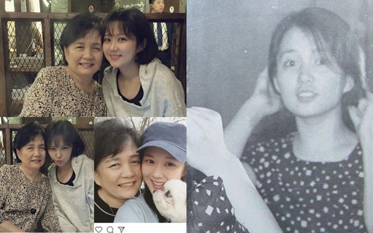 """Nữ diễn viên """"không tuổi"""" Jang Nara xinh đẹp giống mẹ lúc trẻ."""